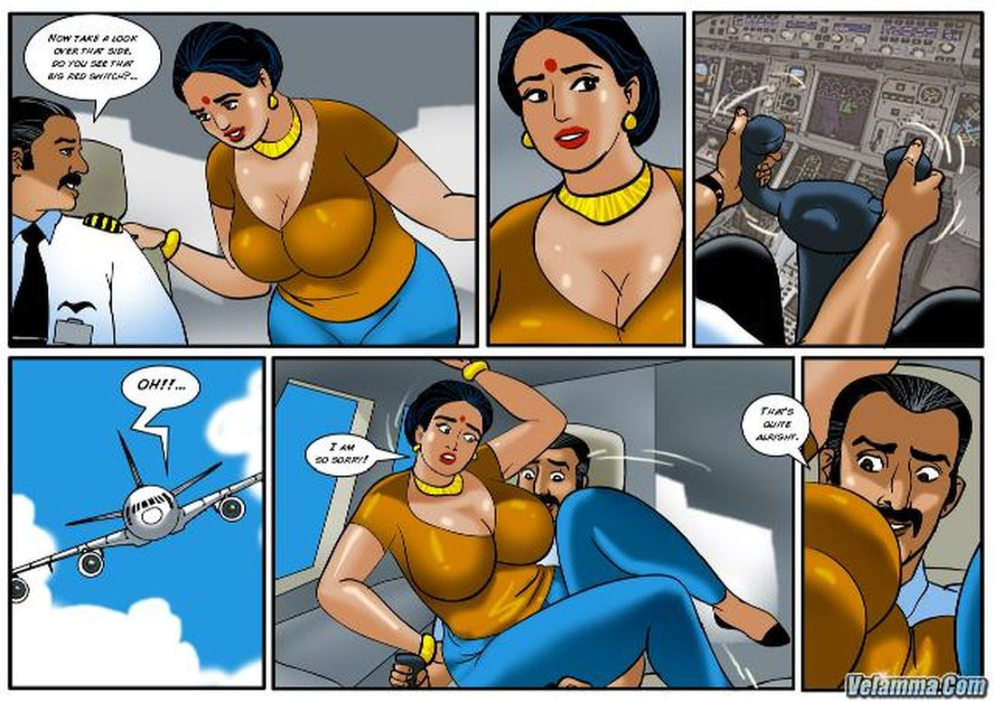 Velamma Cocks in the cockpit - Episode 56 - » Page 13 of ...