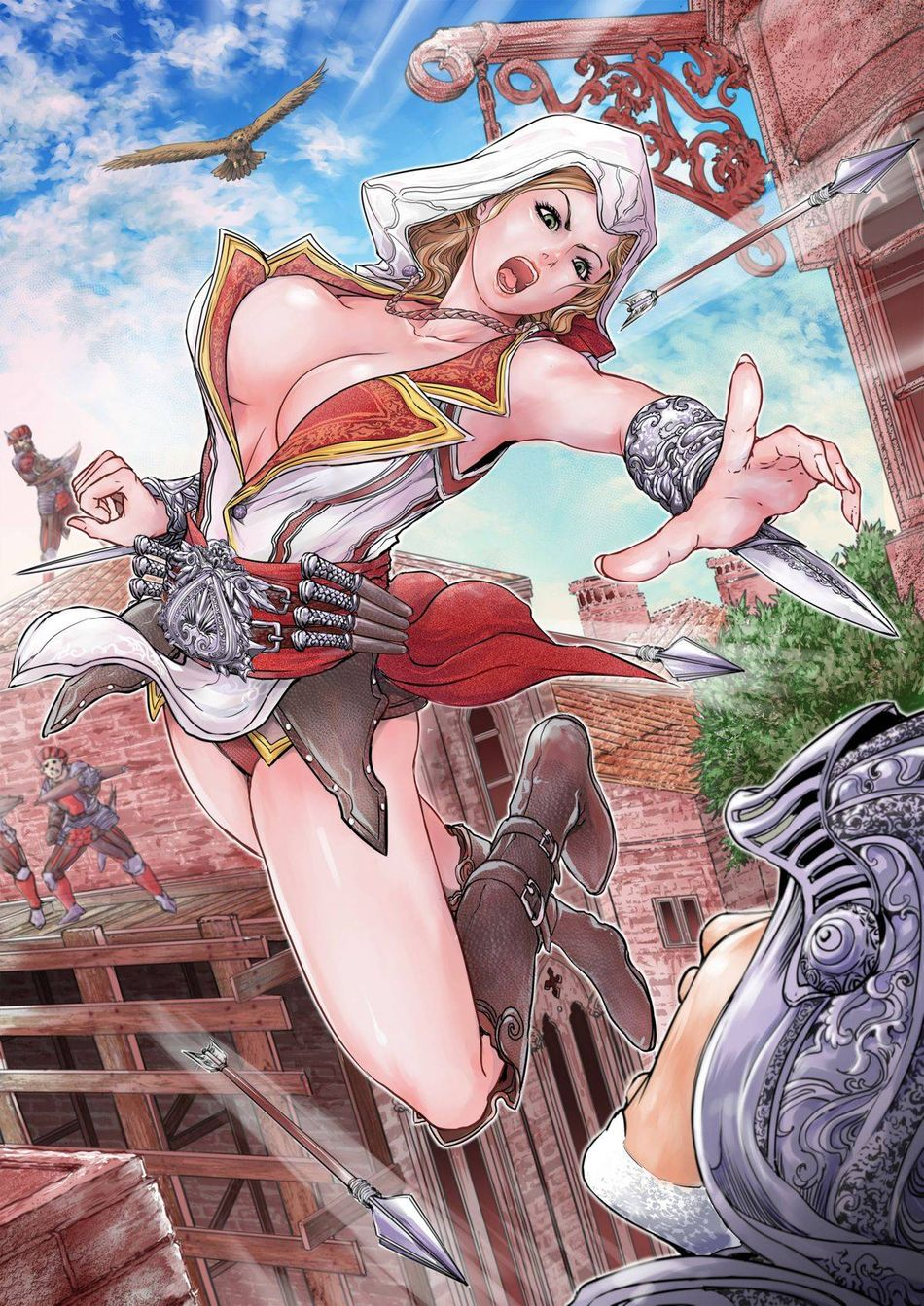 Assasscrons Creed Porno torn s] assassin s xxx ii assassin s creed hentai page 3 of